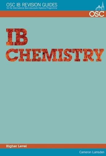 IB Chemistry Higher Level By Cameron Lumsden