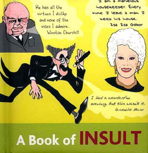 A Book of Insult by Nick Webb