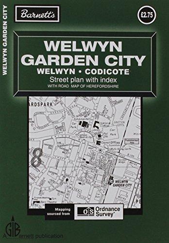 Welwyn Garden City Street Plan