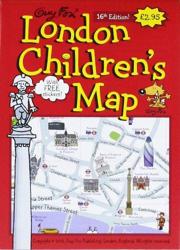 London Children's Map von Kourtney Harper