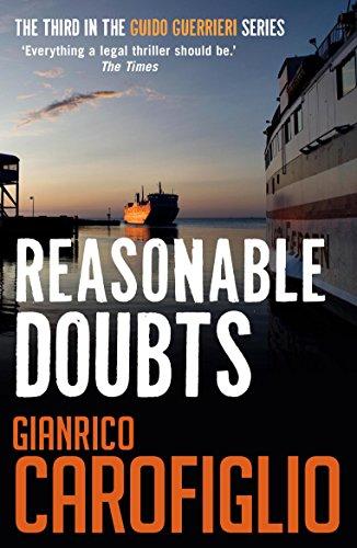 Reasonable Doubts By Gianrico Carofiglio