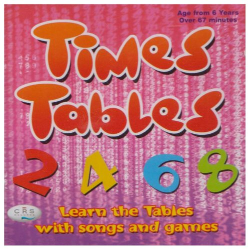 Times Tables CD Learn the Tables with Songs and Games By CRS Records