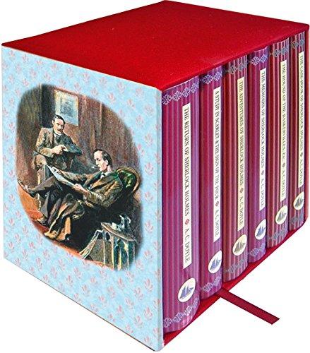 Sherlock Holmes 6-Book Boxed Set By Sir Arthur Conan Doyle