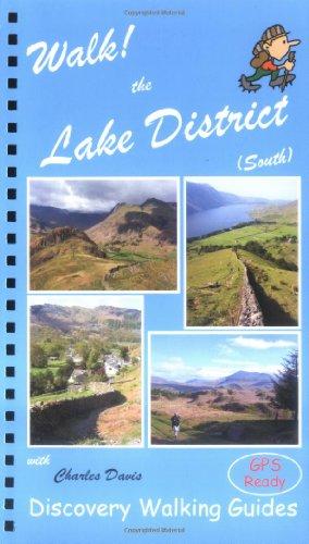 Walk! the Lake District South By Charles Davis