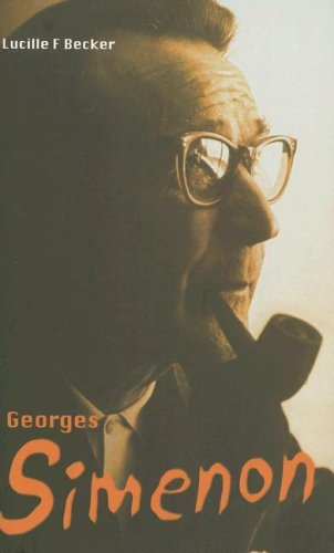 Georges Simenon By Lucille F. Becker