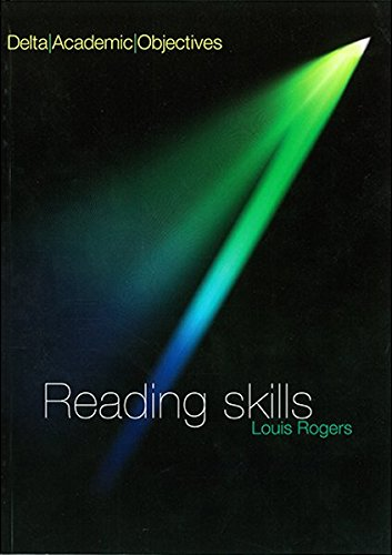 DELTA ACAD OBJ - READING SKILLS CB (Delta Academic Objectives) By Louis Rogers