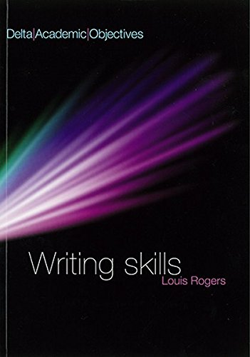 DELTA ACAD OBJ - WRITING SKILLS CB by Louis Rogers
