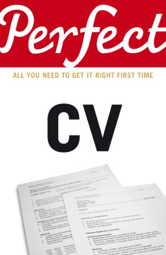 Perfect CV by Max A. Eggert