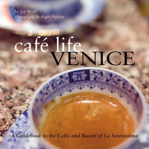 Cafe Life Venice By Joseph Wolff