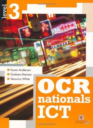 OCR Nationals ICT Level 3 By Karen Anderson