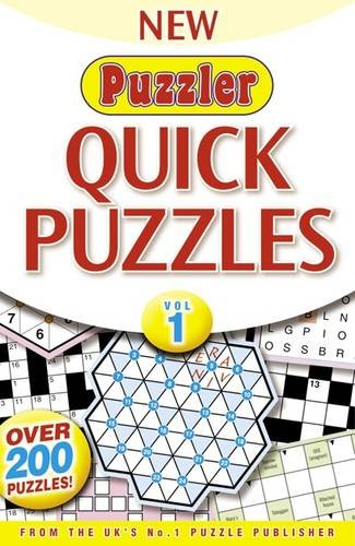 Puzzler Quick Puzzles: Vol. 1 by Puzzler Media