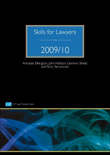 Skills for Lawyers By Annabel Elkington