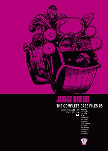 JUDGE DREDD COMP CASE FILE 5 By John Wagner