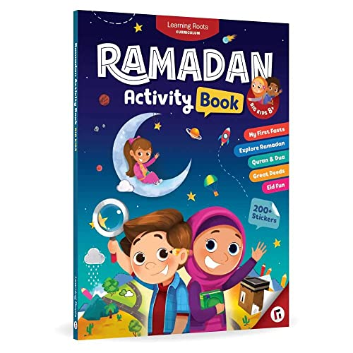 Ramadan Activity Book (Big Kids) By Learning Roots