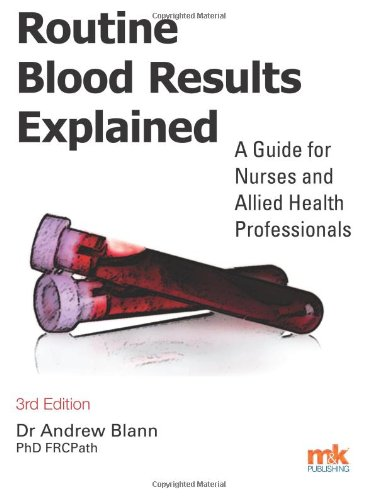 Routine Blood Results Explained By Andrew D. Blann