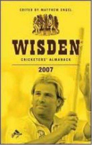 Wisden Cricketers' Almanack 2007: 2007 by Matthew Engel