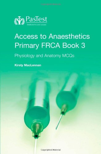 Access to Anaesthetics By Kirsty Maclennan