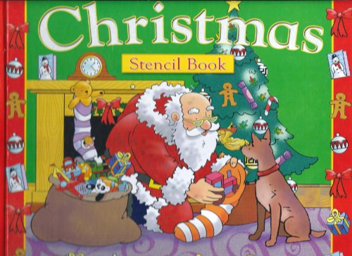 Christmas Stencil Book By Gail Penston
