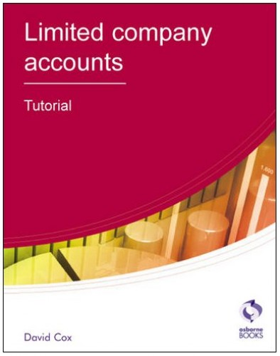 Limited Company Accounts By David Cox