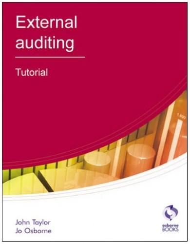 External Auditing By John Taylor