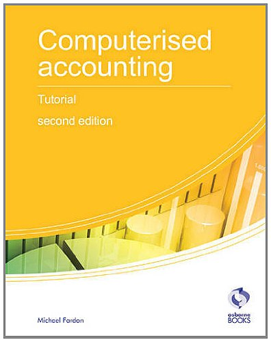 Computerised Accounting Tutorial By Michael Fardon