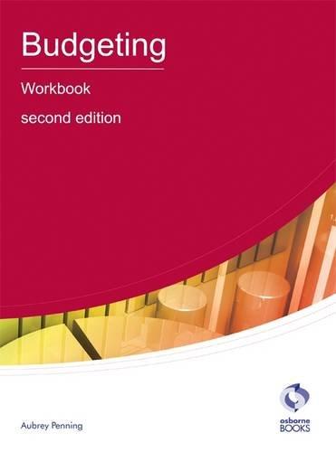 Budgeting Workbook By Aubrey Penning