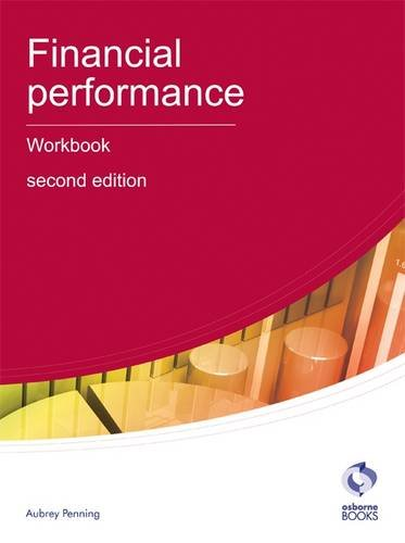 Financial Performance Workbook By Aubrey Penning