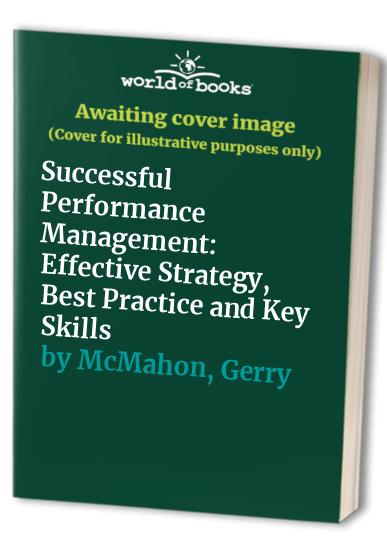Successful Performance Management By Gerry McMahon