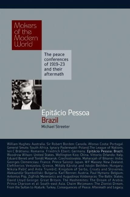 Epitacio Pessoa: Brazil By Michael Streeter