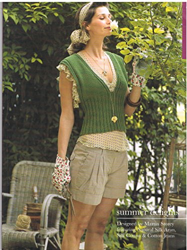 Summer Delights Rowan Classics Knitting Book By Martin Storey