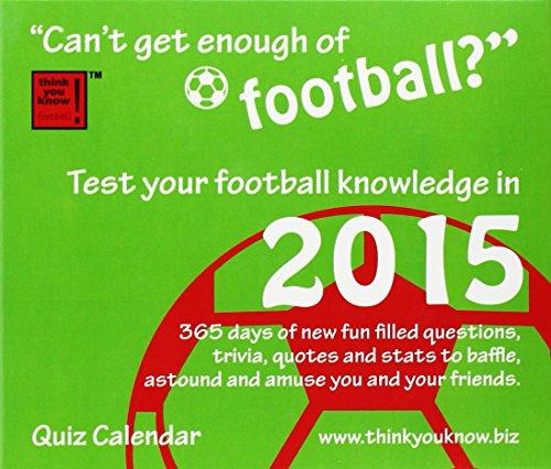 Cant Get Enough of Football Calendar 2 (Box) By Carousel Calendars