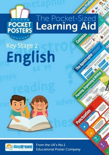 English Key Stage 2 Pocket Posters By Daydream Education