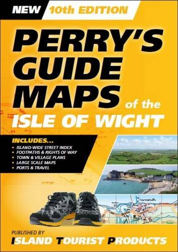 Perry's Guide Maps of the Isle of Wight By Bill Barnard
