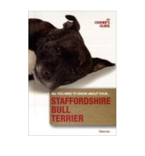 Staffordshire Bull Terrier By Clare Lee