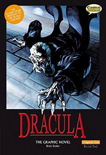 Dracula The Graphic Novel: Original Text (British English) By Bram Stoker