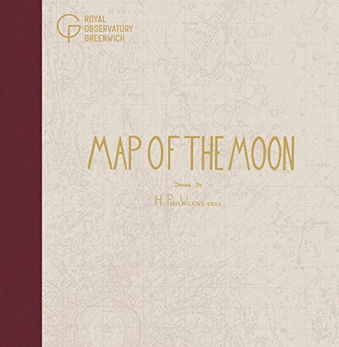Map of the Moon By Hugh Percy Wilkins
