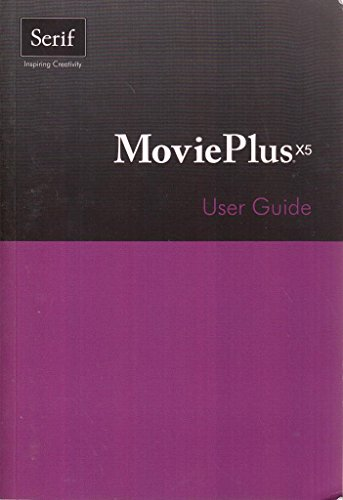 MoviePlus X5 User Guide by Serif Europe Limited Paperback Book The Cheap Fast