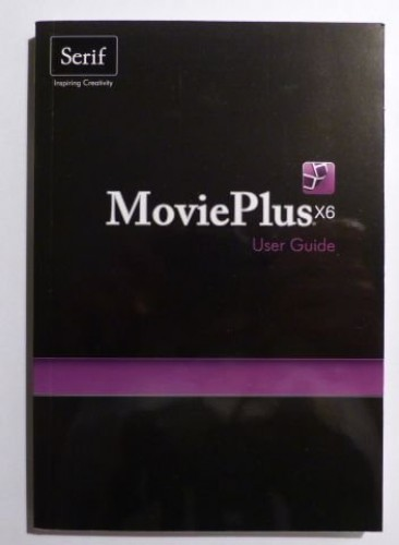 Movieplus X6 User Guide by Serif Europe Limited