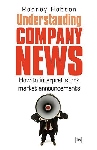 Understanding Company News By Rodney Hobson