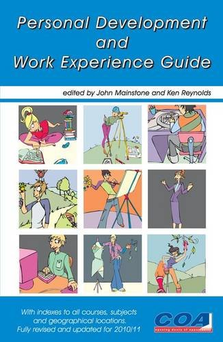 Personal Development and Work Experience Guide By Ken Reynolds