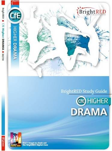 CfE Higher Drama (Bright Red Study Guide) By Kerry Reith
