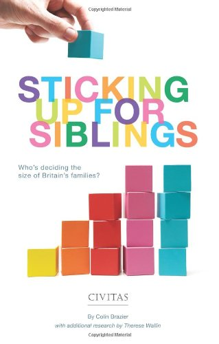 Sticking Up for Siblings By Colin Brazier