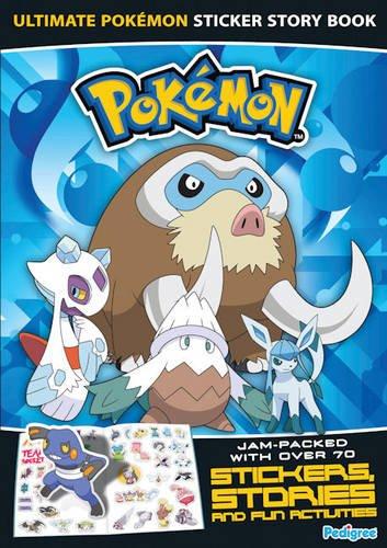 """Pokemon"" Sticker Story Book 2009 By Pedigree"