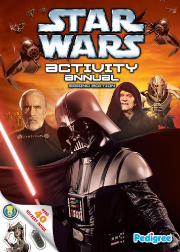 Star Wars Spring Activity Annual By Pedigree