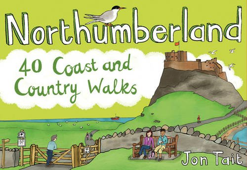 Northumberland: 40 Coast and Country Walks (Pocket Mountains) (Pocket Mountains S.) By Jon Tait