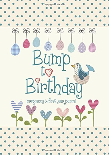 Bump to Birthday, Pregnancy & First Year Baby Journal : an award-winning journal / diary to help you hold onto memories of the growing bump, the birth ... first year with your baby By Helen Stephens