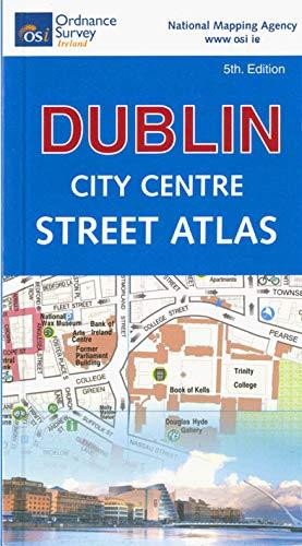 Dublin City Centre Street Atlas (pocket) By Ordnance Survey Ireland