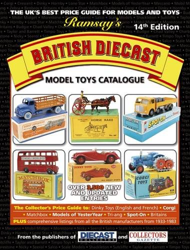 Ramsay/'s British Diecast Model Toys Catalogue 14th Edition Book The Fast Free