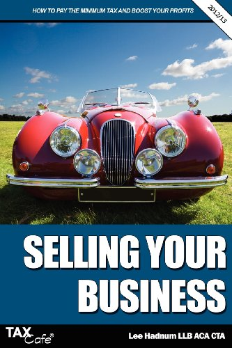 Selling Your Business By Lee Hadnum