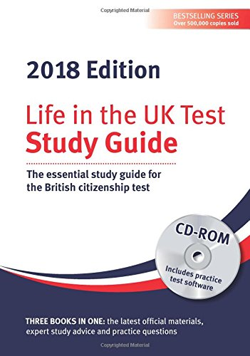 Life in the UK Test: Study Guide & CD ROM 2018 By Henry Dillon